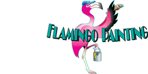 Flaming Painting Logo